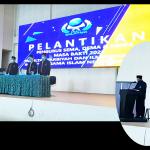 Dekan Melantik Pengurus Ormawa FTIK Tahun 2021